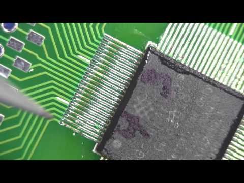 EEVBlog #408 - Schmart Board 0.4mm QFN SMD Soldering