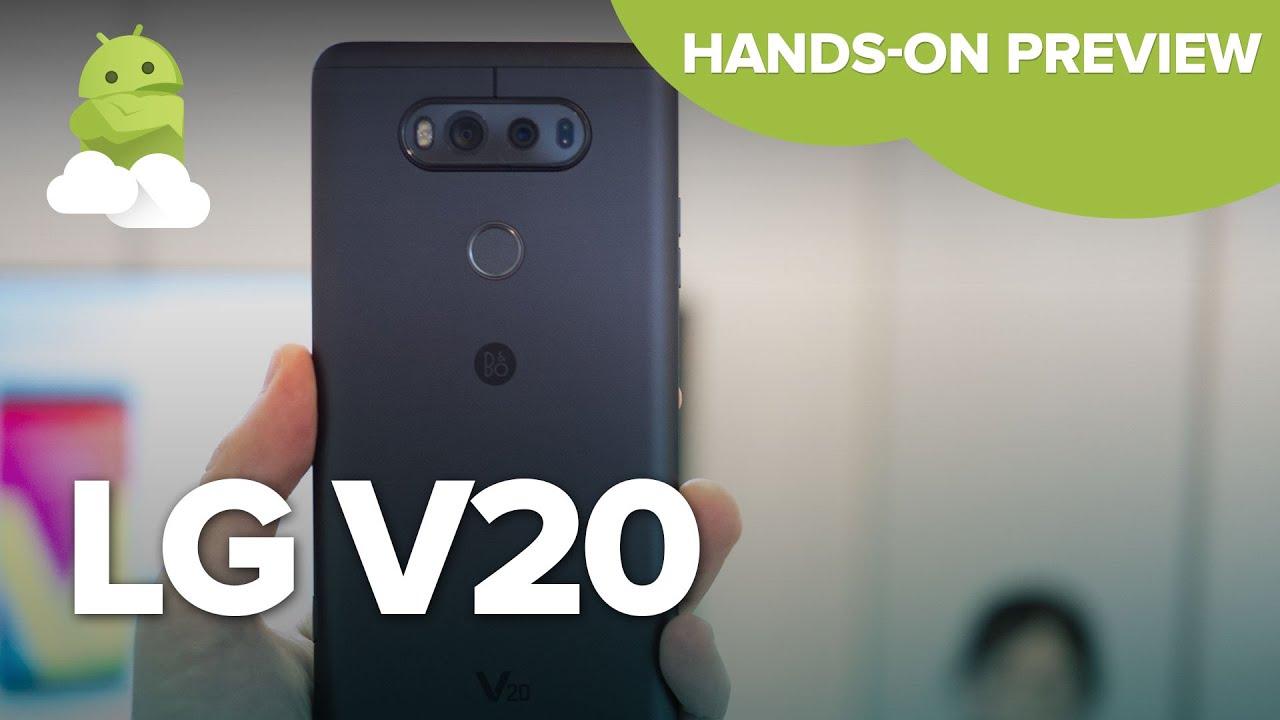LG V20 specs   Android Central