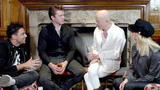 Richard O'Brien meets Joanne Clifton, Ben Adams and Stephen Webb