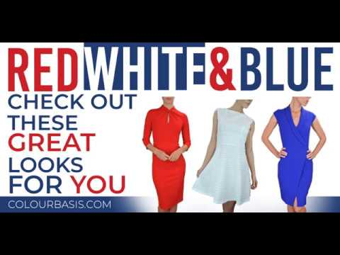 Red, White, and Blue Dresses