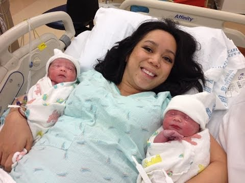 Delivering Identical Twins- March 07, 2014 ItsJudysLife Daily Vlogs
