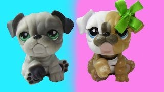 Lps Bulldog Brother - Mommies Part 19 Littlest Pet Shop Series Movie Mom Babies