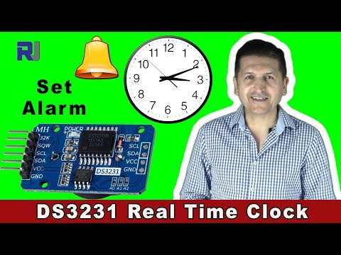 How To Use DS3231 RTC Clock Module Alarm With Arduino