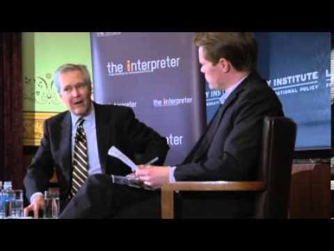 Lowy Lecture Series - In Conversation With James Fallows: Political Media, Old And New