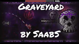 CREEPY!!! Graveyard by SaabS - Harder 6* - Geometry Dash - Darkuter