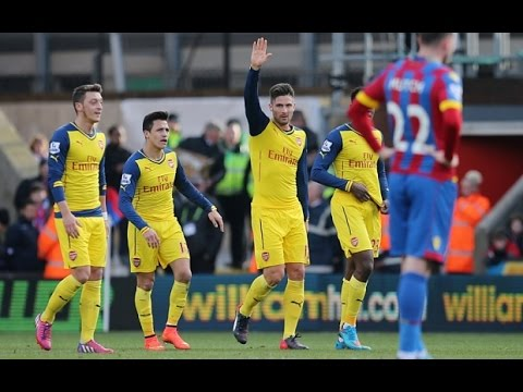 Match Review - Crystal Palace 1 Arsenal 2