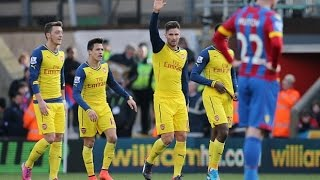 match review crystal palace 1 arsenal 2