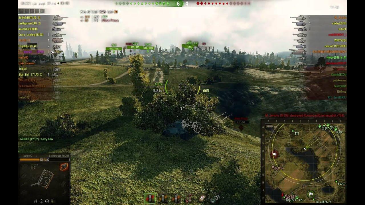 World of Tanks - RU 251 Ace Tanker/5k dmg/3k spotting