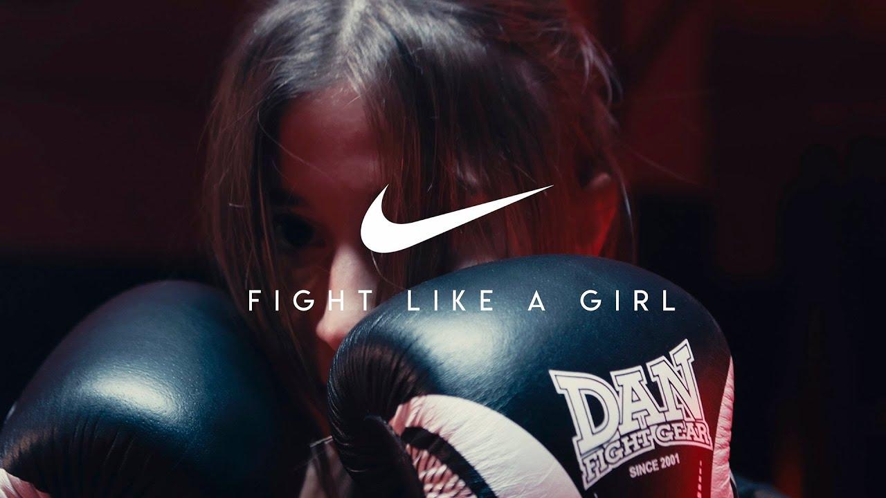 Nike Fight Like A Girl Nike Commercial Of Kickboxing Blackmagic Ursa 4 6k G2 Linzex Studios Youtube