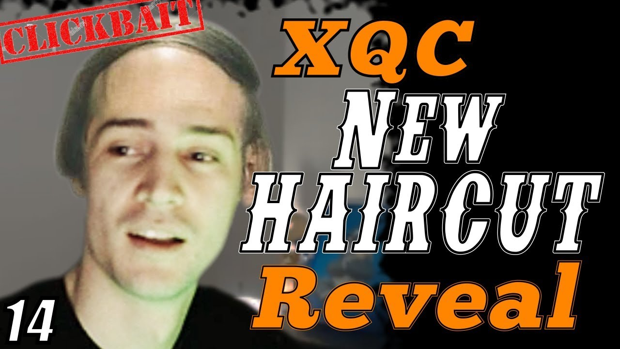 xQc Reveals His NEW HAIRCUT!