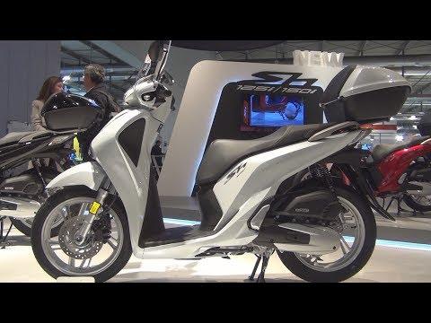Honda SH125i ABS (2017) Exterior and Interior