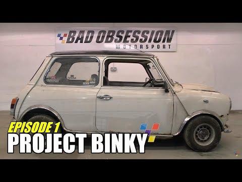 Project Binky - Episode 1  - Austin Mini GT-Four - Turbo Charged 4WD Mini