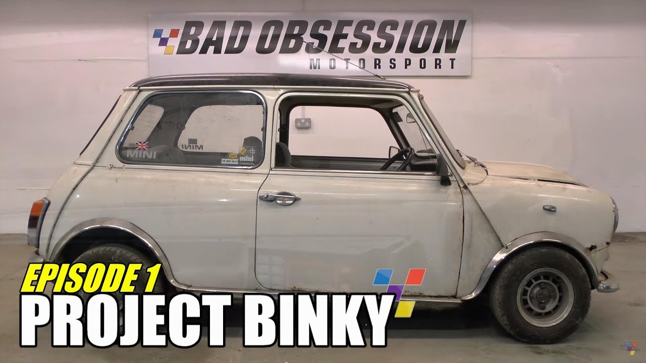 Project Binky - Episode 1  - Austin Mini GT-Four - Turbo Charged 4WD Mini