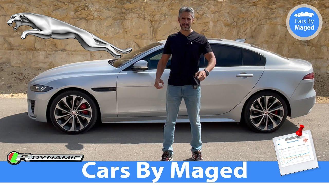 Download اسمها طويل قوي   تجربة كاملة مع تسارع   Jaguar XE P300 AWD R-Dynamic  جاكوار اكس اي