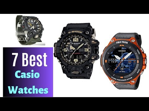 7 Best Casio Watches For Mens For 2019 Prices List