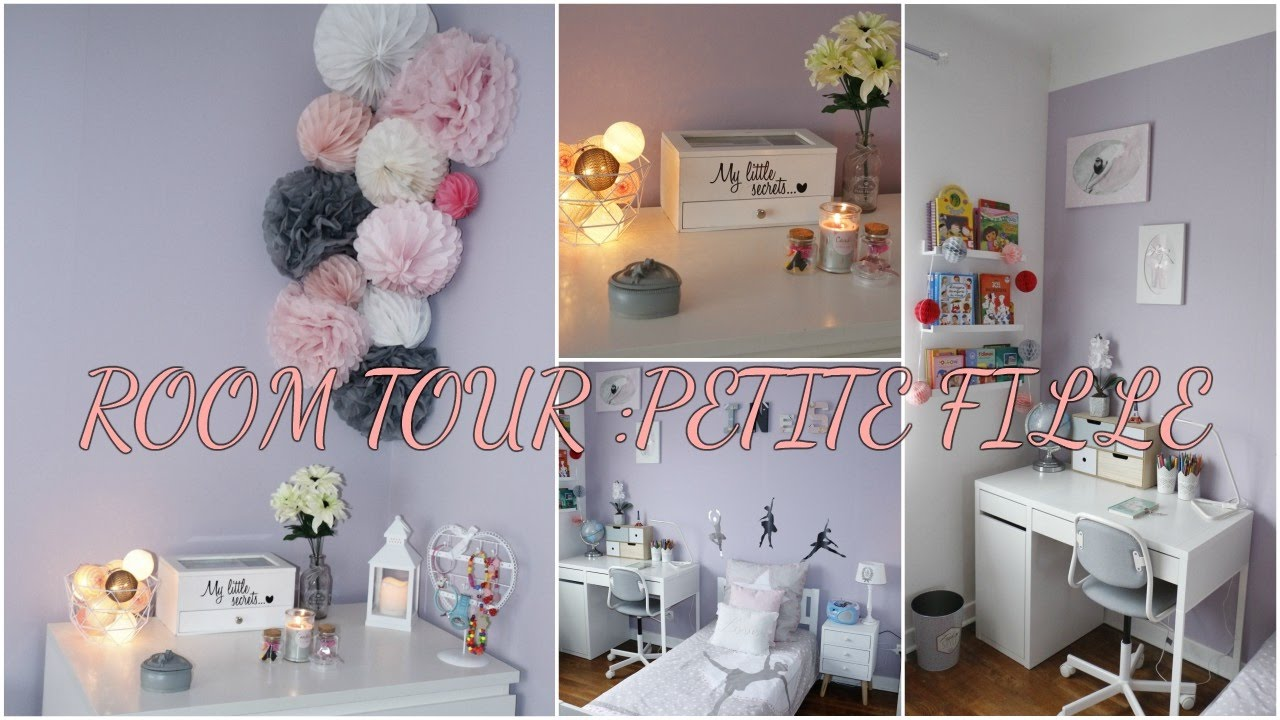 Room tour chambre petite fille youtube for Salon rochepinard tours