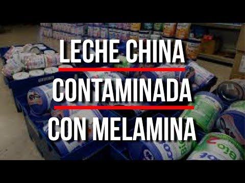 ¡CONTAMINADA Con MELAMINA! - Leche MADE IN CHINA