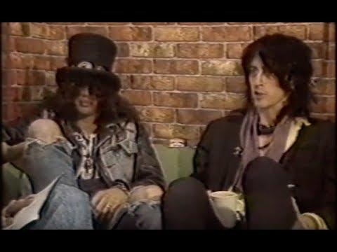 Guns N' Roses Izzy Stradlin & Slash Talk Appetite For Destruction Cover & Album Controversy