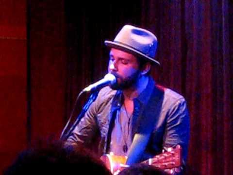Greg Laswell - Sweet Dream - Boston, July 2009