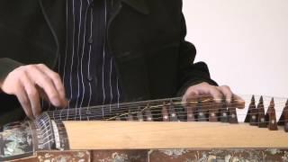 Ngũ Điểm Bài Tạ - Tranh (Vietnamese Harp): Nguyễn Đăng Thảo