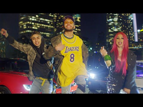 Jandro - Donuts (ft. Snow Tha Product, OHNO) [REMIX] (Official Music Video)