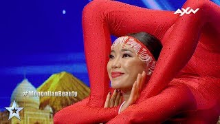 Nyamgeral Gankhuyag Judges' Auditions Epi 4 Highlights | Asia's Got Talent 2017
