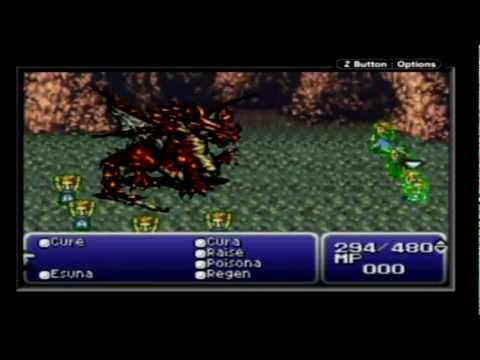Let's Play Final Fantasy 6 Advance Walkthrough Part 44 (Phoenix Cave + Coliseum)