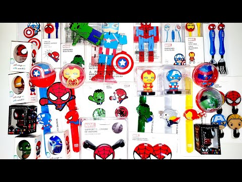 Marvel Avengers Superheroes Miniso Kids Edition Toys Collection