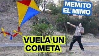 Memito el Mimo vuela un cometa