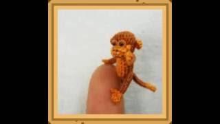 Самые маленькие вязаные крючком животные. Суами.  Вдохновение