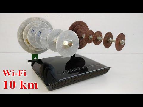 Long Range WiFi Antenna at home