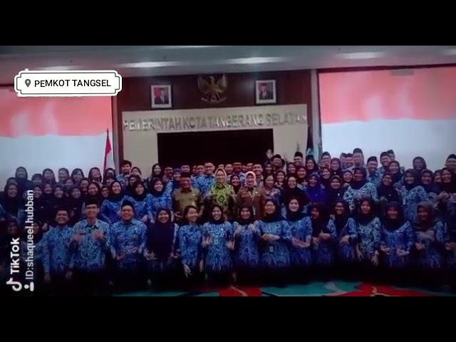 Asyik, Wali Kota Tangsel Airin Rachmi Diany dan 116 ASN Baru Joget TikTok Bareng
