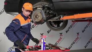 Montering Länkarm hjulupphängning AUDI Q7 (4L): gratis video
