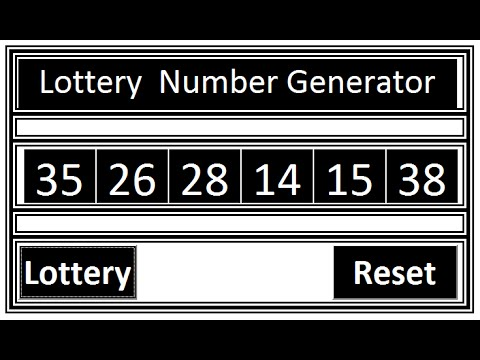 all lotto generator number