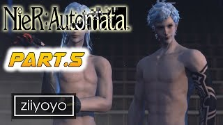 Nier: Automata Gameplay Walkthrough Part 5 [1080p HD 60FPS PC ULTRA] - No Commentary