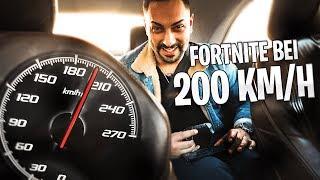 FORTNITE MOBILE BEI 200KM/H | 100€ GEWINNSPIEL | Amar