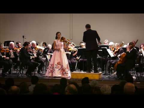 Chelsea Xia, 14 years old, Mendelssohn Violin Concerto with Riverside Symphony