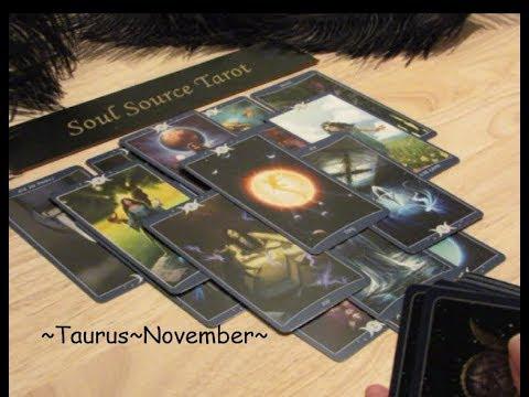 ~Taurus~♉️ The Beginning of a New Life & You have a Choice ☯️ Taurus November Tarot Reading 💗