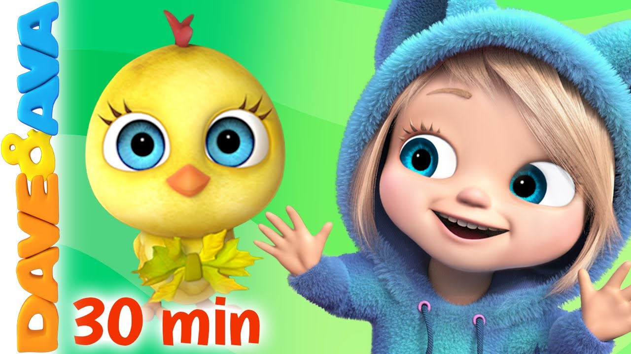Download 😜 Little Chicks | Nursery Rhymes & Kids Songs | Baby Songs by Dave and Ava 😜