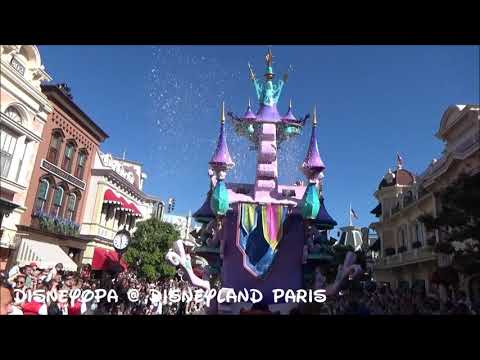 Disneyland Paris Disney Stars on Parade After Parade Walk 2017 DisneyOpa