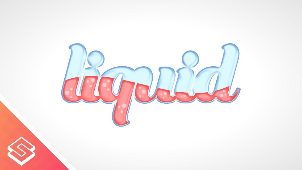 Inkscape Character Design Tutorial : Inkscape tutorial vector liquid text youtube