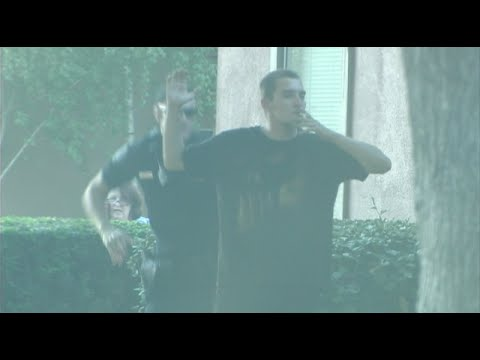 Police Takedown Of Suspect Caught On Film