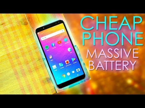 This Cheap Smartphone's Battery Lasts For DAYS!