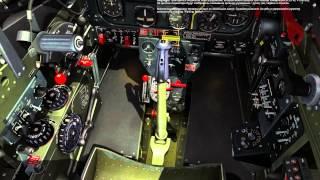 DCS: Процедура запуска двигателя P-51D