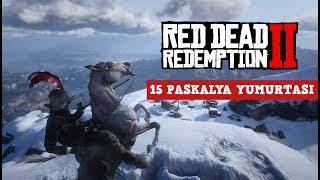 RED DEAD REDEMPTION 2 - 15 Paskalya Yumurtası (Silahlar & Eşyalar)