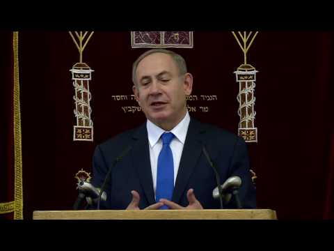 PM Netanyahu Meets with Jewish Community in Kazakhstan