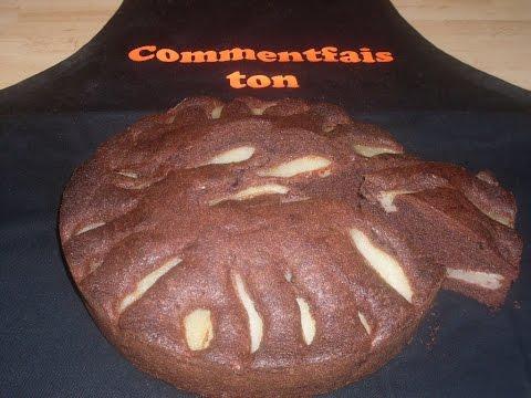 recette-du-gâteau-moelleux-au-chocolat-et-aux-poires