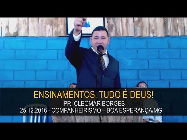 25.12.2016 - Escola Dominical - Pr. Cleomar Borges   Confraternização Boa Esperança/MG