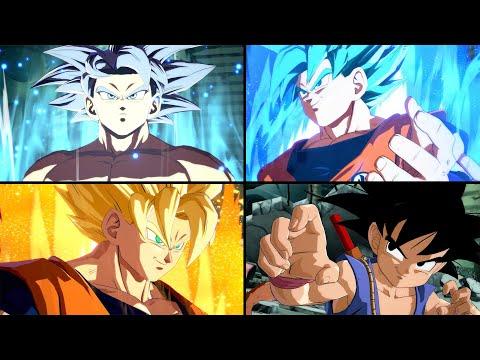 DBS/DBZ/DBGT Goku Special Quotes [W/Ultra Instinct] | Dragon Ball FighterZ
