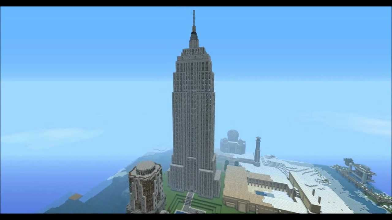 Empire State Building Blueprints Minecraft